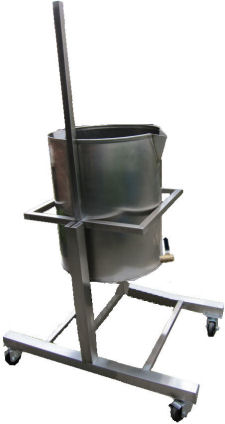 Soap Equipment: Pot Tipper Complete Soap Making System