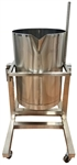 Pot Tipper Soap Making Dispensing Tank 26 Gallons for soap making equipment.