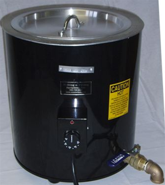 Direct Heat Melter Is Ideal For Higher Temperature Melting