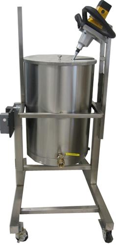 Soap Making Equipment Pot Tipper Soap Equipment Is Heated